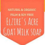 Elzire's Acre Goat Milk Soap logo