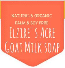 Elzire's Acre Goat Milk Soap logo